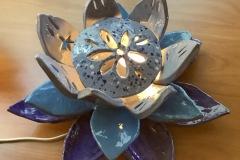 Megan-Johnson-Grade-11-Clay-lamp
