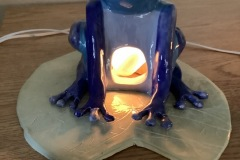 Sophia-Guido-Grade-11-Clay-Lamp